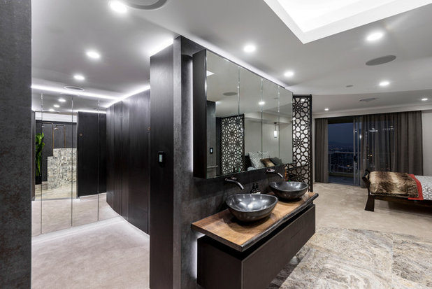Contemporary Wardrobe by Kim Duffin for Sublime Luxury Kitchens & Bathrooms