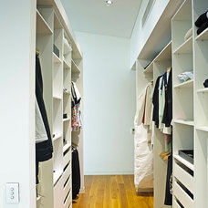 Contemporary Closet by Tim Ditchfield Architects
