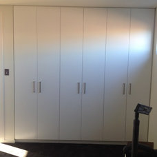 Traditional Closet by optimal kitchens and joinery