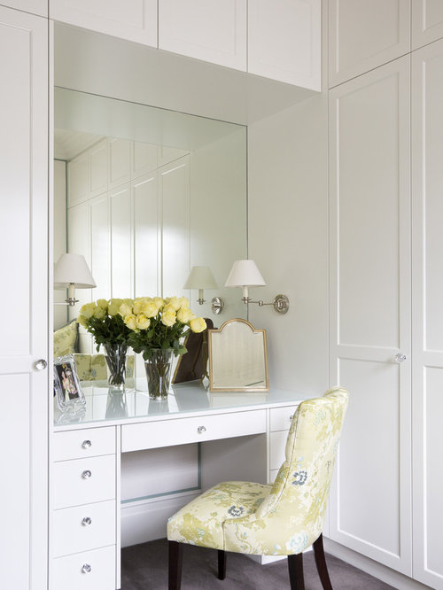 Vanity table houzz for Womens dressing table