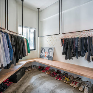 Design ideas for an industrial storage and wardrobe in Singapore.