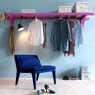 Example of an eclectic closet design in Adelaide