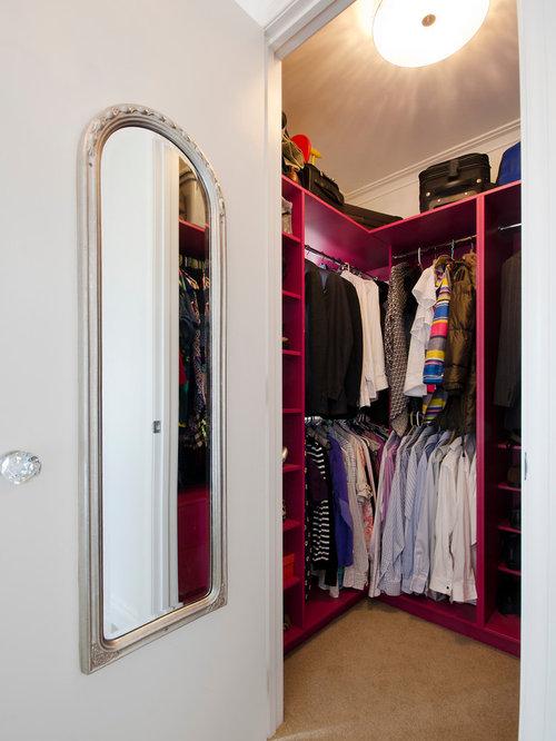 Small Walk-In Closet Design Ideas, Remodels & Photos