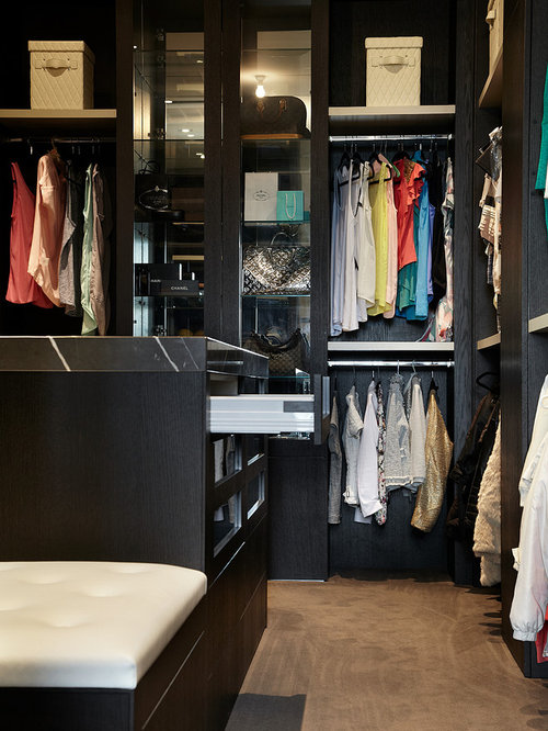 High End Closet Design Ideas Remodels Photos - High end closet design