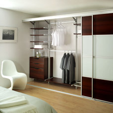 Contemporary Closet by Awardrobes