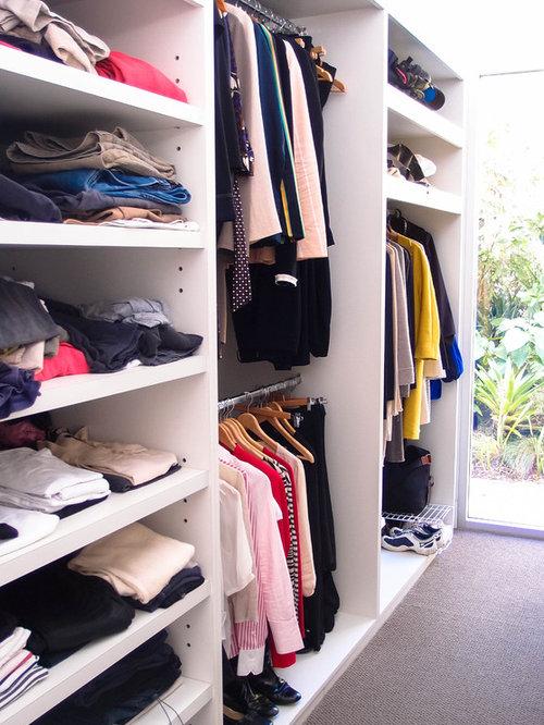 Double Decker Closet Design Ideas, Remodels & Photos