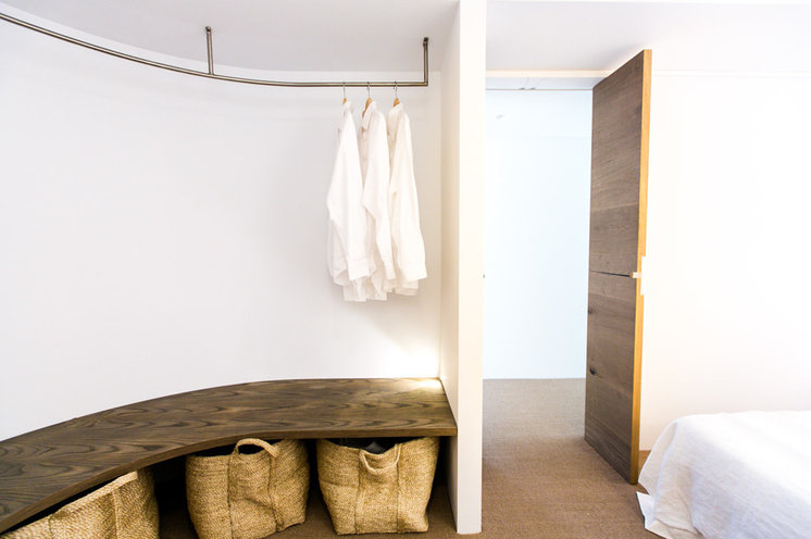How To Hang Closet Rod From Ceiling Home Design Ideas