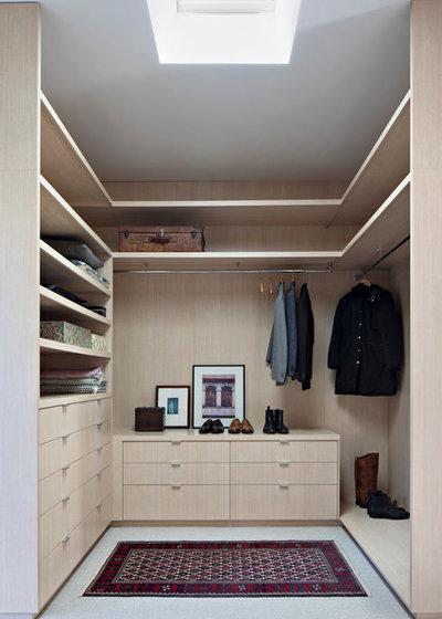 Contemporary Wardrobe by Minett Studio Architecture and Design