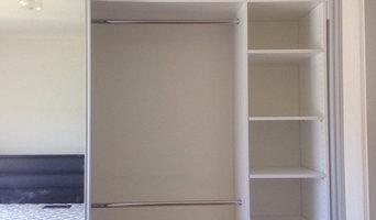 Recently installed wardrobes
