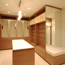 Contemporary Closet by Project Designs Architects