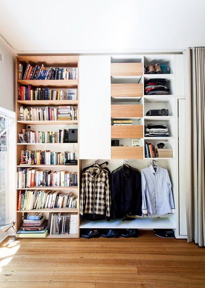 Contemporary Closet by Architecture Architecture