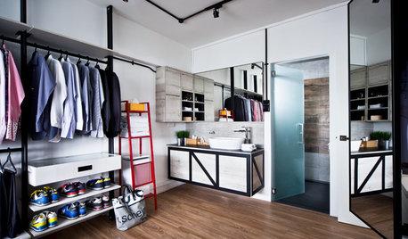14 HDB Walk-in Wardrobes to Copy