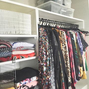 Wardrobe Reorganise
