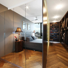Modern Closet by Melbourne Contemporary Kitchens