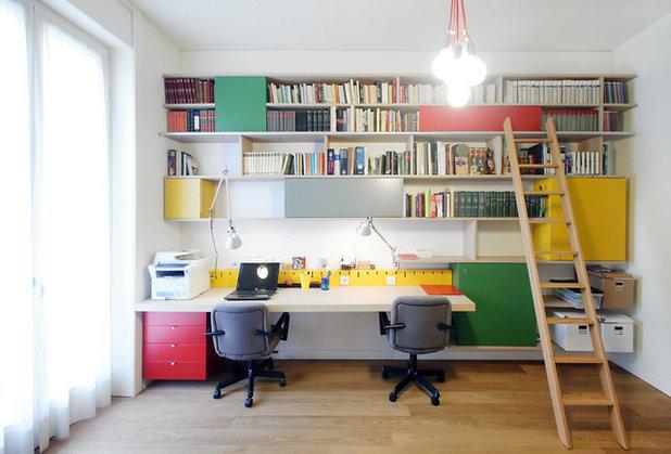 Modern Home Office by Filippo Colombetti, architetto