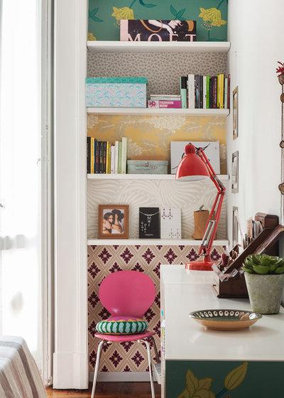 insolite les papiers peints osent toutes les fantaisies. Black Bedroom Furniture Sets. Home Design Ideas