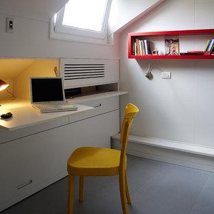 Стильный дизайн: кабинет в стиле модернизм - последний тренд