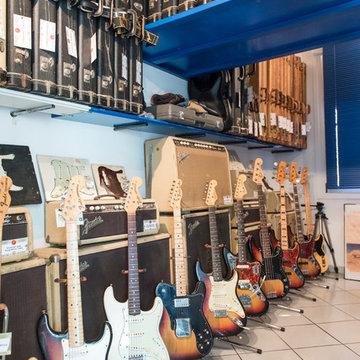 Flavio Camorani - Fender guitar & ampli private collection