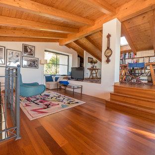 ミラノのモダンスタイルのおしゃれなホームオフィス・書斎の写真