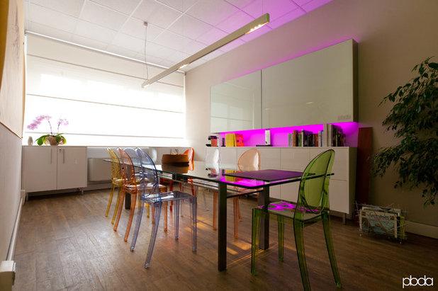 Modern Home Office by piccola bottega di architettura