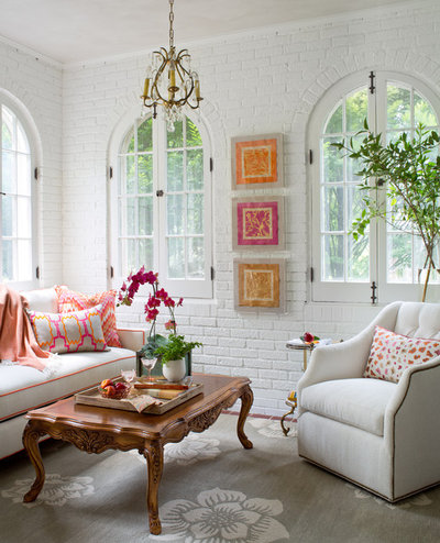 Traditional Sunroom by Laura Lee Home
