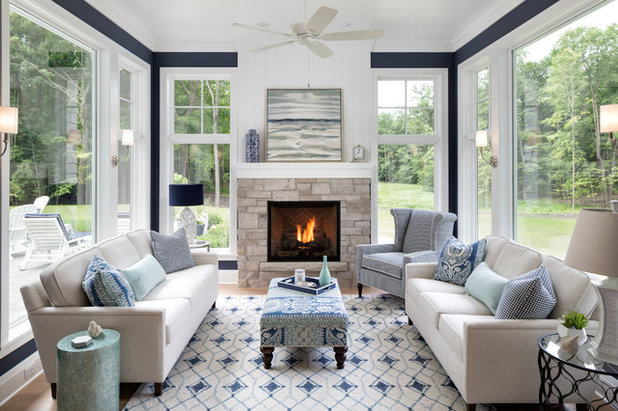 Beach Style Sunroom by BATC-Housing First Minnesota
