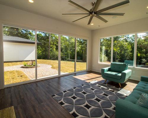 Foto e idee per verande veranda moderna houston for Idee di veranda laterale