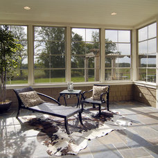 Traditional Sunroom by John Kraemer & Sons