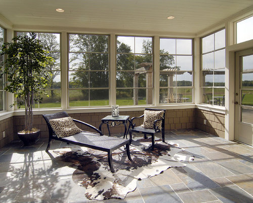 Sunroom flooring home design ideas pictures remodel and for Sunroom tile floor ideas