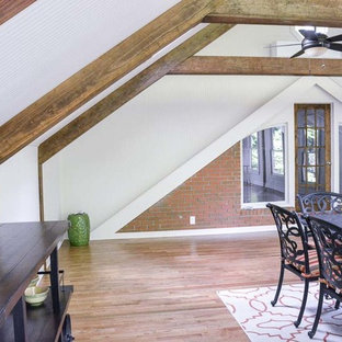 4 Season sunroom addition with cathedral ceilings