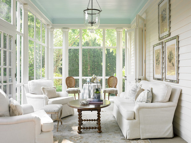 Traditional Conservatory by T.S. Adams Studio, Architects