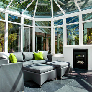 A Conservatory with a Modern Twist