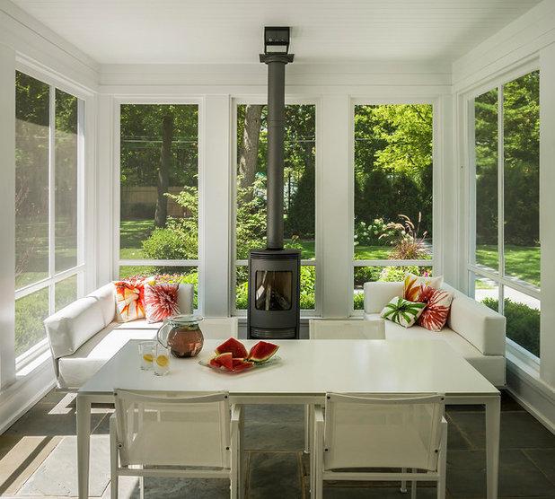 Contemporary Sunroom by Fraerman Associates Architecture