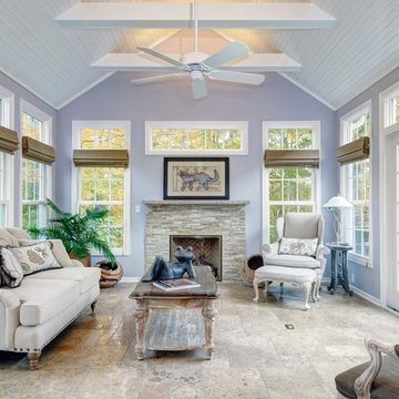 A Sunroom Addition in Powell