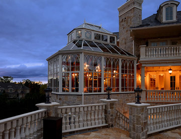 A Traditional Conservatory in Livingston, New Jersey