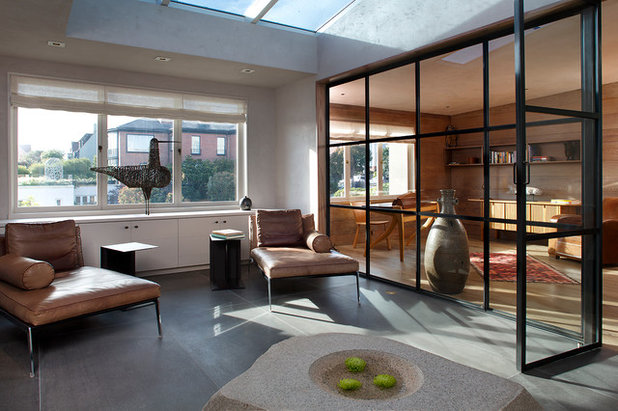 Contemporary Sunroom by Butler Armsden Architects