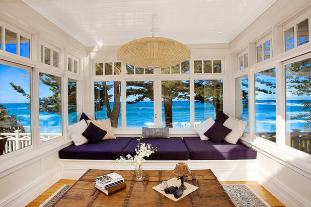 Beach Style Sunroom by Ryan Lahiff Photography