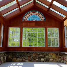 Traditional Sunroom by Advantage Contracting