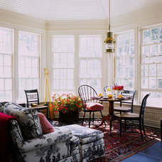 Traditional Sunroom by Vincent Greene Architects