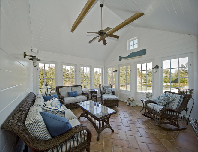 Traditional Sunroom by ARCHIA HOMES