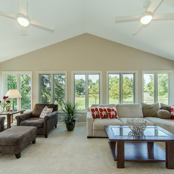 Beautiful Remodel Done for Sunroom