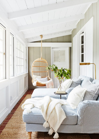 Beach Style Sunroom by Banner Day Consulting