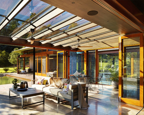 Wintergarten Design houzz 50 best asiatischer wintergarten ideen design bilder