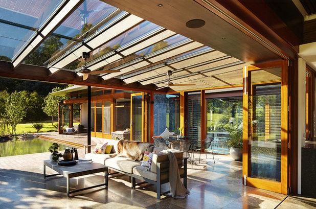 das wohnzimmer im grünen: 7 möglichkeiten für die terrassenüberdachung, Terrassen deko