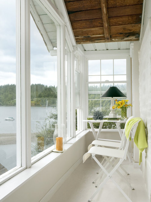 Enclosed Balcony Home Design Ideas Pictures Remodel And Decor