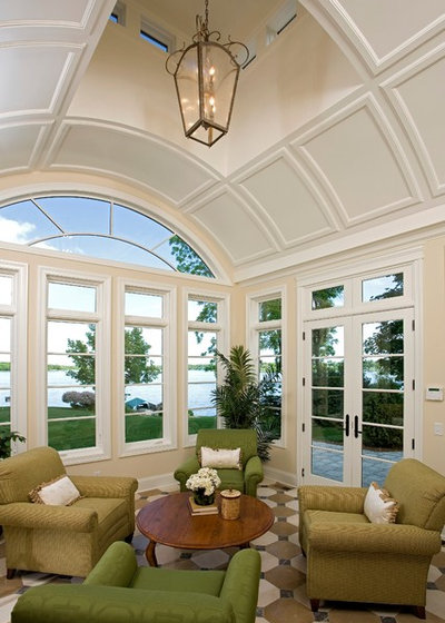 Traditional Sunroom by Alexander Design Group, Inc.