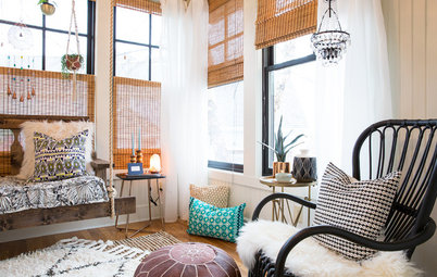 Room of the Day: A Boho Sunroom Beckons