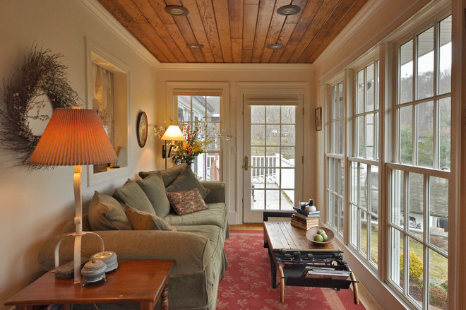 Traditional Sunroom by Mortar Architecture + Development