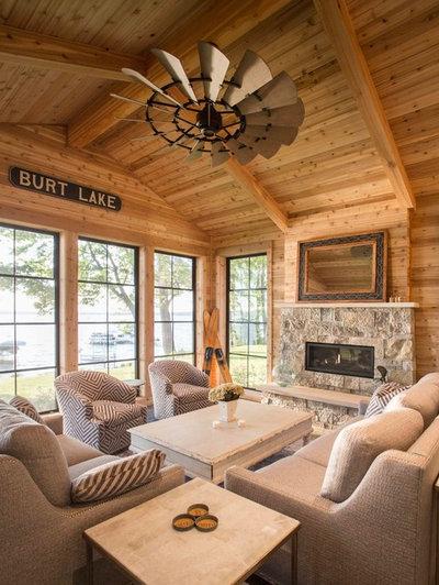Beach Style Sunroom by Edgewater Design Group