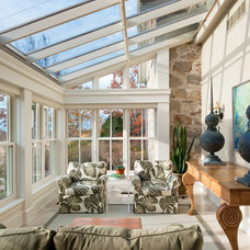 Traditional Sunroom by Brenda Liu Photography